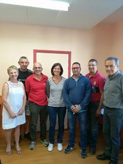 initiation menuiserie bois et alu en partenariat avec le lycée A. Aymard octobre 2018